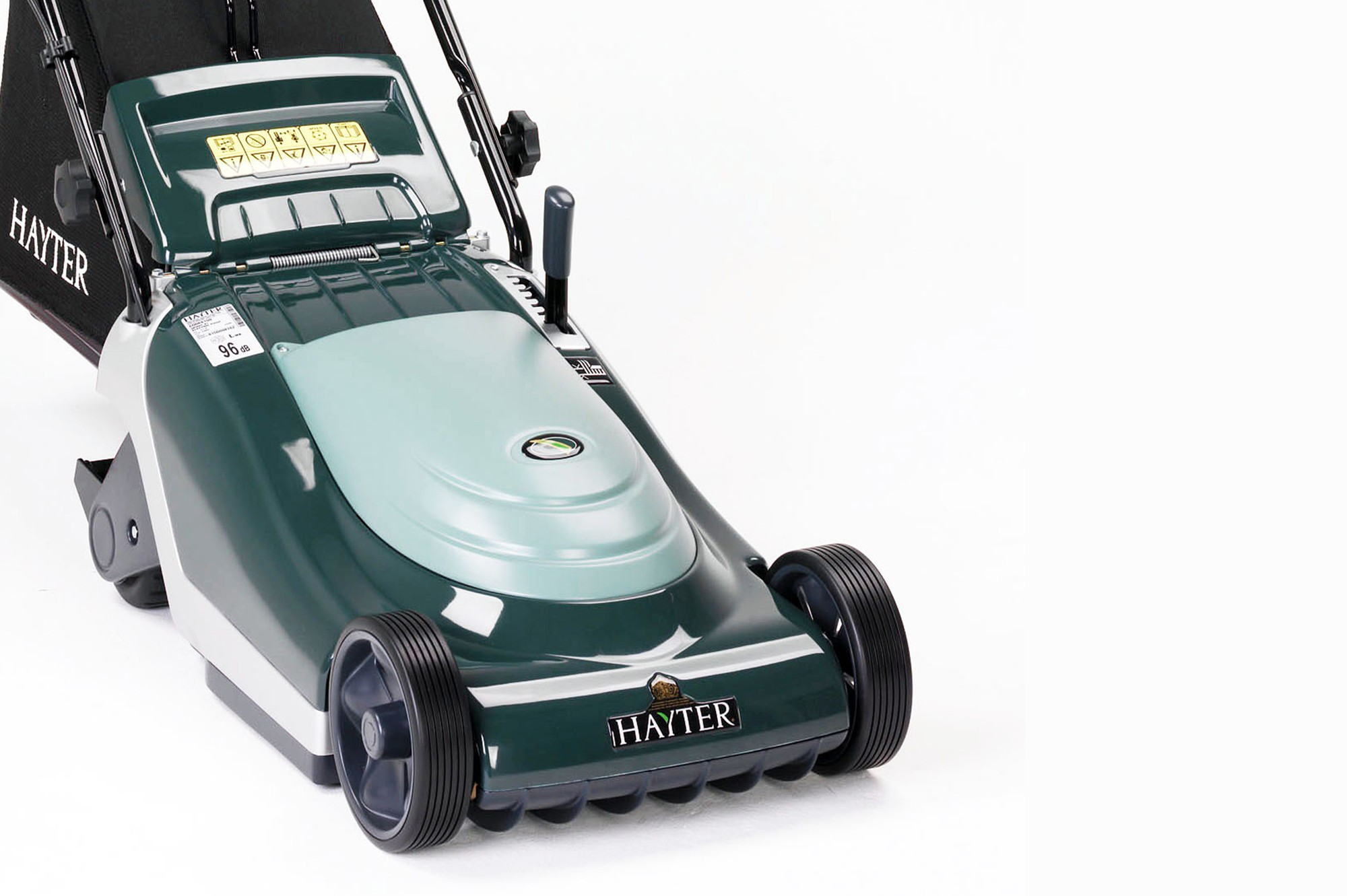 Working model of a Hayter electric lawn mower