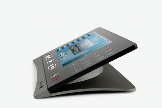 Touchscreen controller for video conferencing